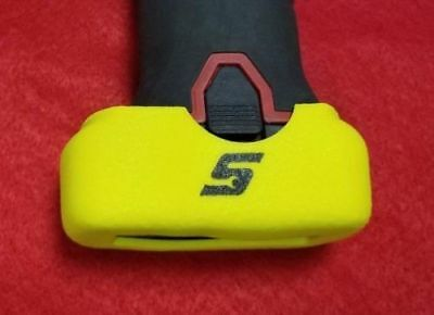 QUANTITY 2 - Snap On Yellow Battery Boot Covers CT761 CTS761 CDR761 CTR761 14.4V