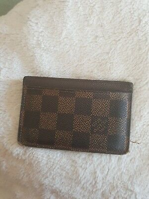 Lv Louis Vuitton Visitenkartenetui Leder Original Top