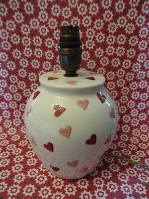 Emma Bridgewater Pink Hearts Small Lamp