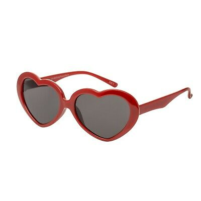 Red Heart Kids Childrens Sunglasses UV400 Classic Girls Lolita Fashion Glasses