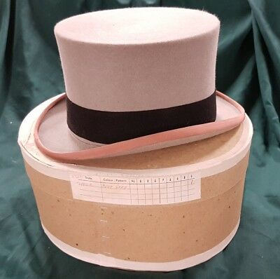 LOCK AND CO ASCOT GREY TOP HAT Size 7.5