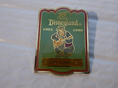 Disney Trading Pins 1933 DLR - Cast Member 35th Anniversary Shield Set (Bear Cou