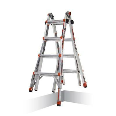 New 16517-803 Little Giant Ladders Leveler Aluminum 18-ft Type 1A Multi-Position