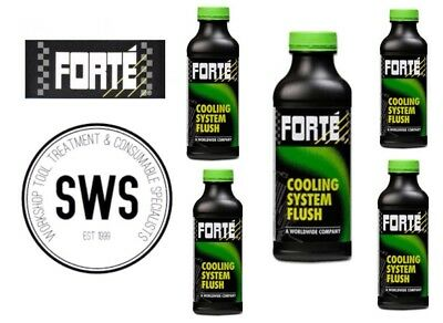 NEW Forte GENUINE 5X 05019 Coolant Cooling System Flush 500ml service clean DEAL