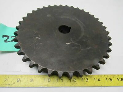 "#60 Roller Chain Sprocket 38T 3-3/16"" Bore"