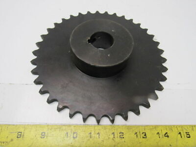 "#50 Roller Chain Sprocket 37T 1-3/16"" Style B Bore"