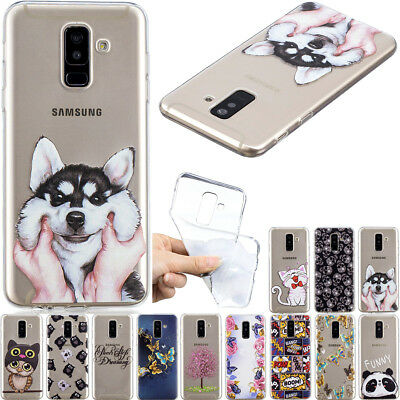 Slim Clear Soft Silicone TPU Rubber Gel Back Case Cover For Samsung Galaxy Note9