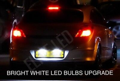 VAUXHALL ASTRA J GTC Xenon White Daytime Running Light DRL 30SMD LED Bulbs CORSA