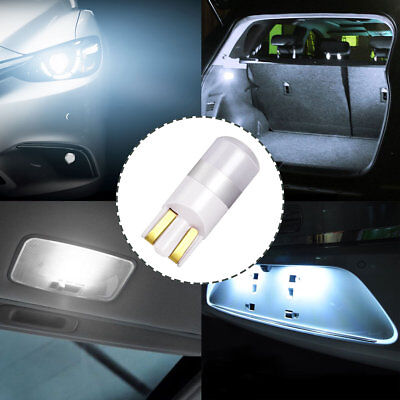 4x 12V 1W Licht LED Lampe Kofferaumbeleuchtung Auto Innenbeleuchtung Glühlampen