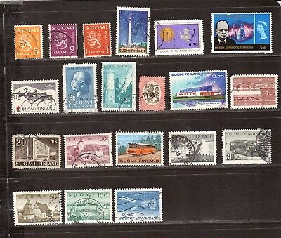 MG449 FINLAND Stamps Used RARE Picks