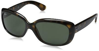 Ray-Ban RB4101 710 Jackie Ohh Tortoise Frame Green 58mm Lens Sunglasses