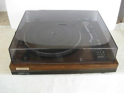 Pioneer Vintage Record Player PL-51A Direct Drive Stereo Turntable
