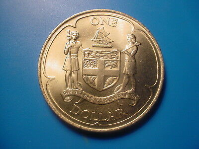 Fiji - Crown Size - 1969 1-Dollar In Very Nice Uncirculated Condition
