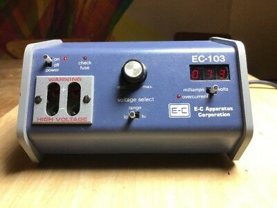 E-C Apparatus Corp EC105 Constant Voltage Power Supply Electrophoresis