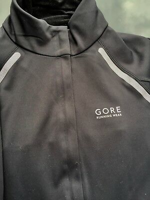 GORE RUNNING WEAR Damen Windstopper Soft Shell Jacke Gr. 36 schwarz von Gore Run
