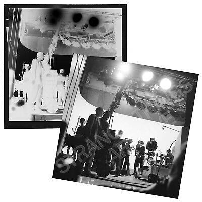 Original and Unseen BEATLES B&W Negative - filming Hard Day's Night, Scala 1964