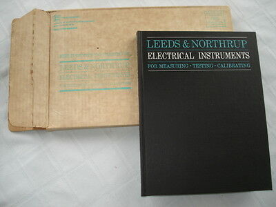Leeds & Northrup Electrical Instruments Catalog A Measuring-Testing-Calibrating