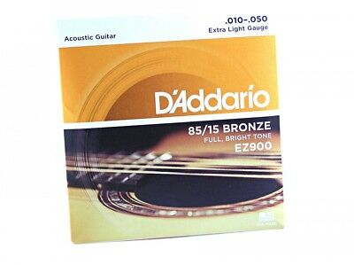 D'Addario EZ900 American Bronze Acoustic Guitar Strings  010-050