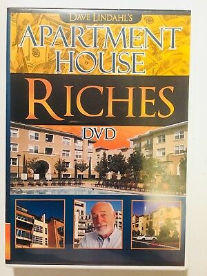 Dave Lindahl S Apartment House Riches Dvd Real Estate Multi Family Rentals