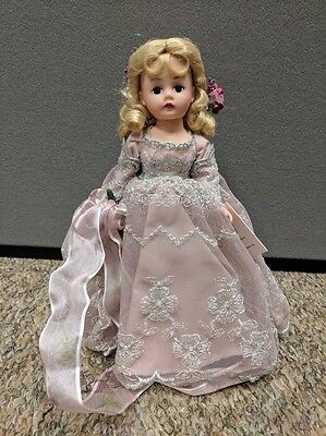 """Madame Alexander 10"""" inch doll ANGEL OF BLISS #32155 in BOX Pink Gown Blonde"""