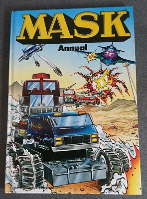 Mask Annual 1989 good condition Unclipped