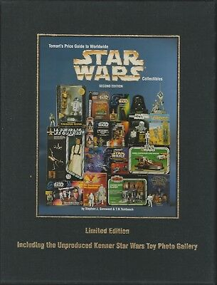 Tomart Price Guide Star Wars Collectibles HC Steve Sansweet Unproduced Extras