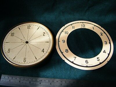 Bentima and one other clock dials for spares