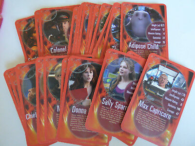 lot cartes doctor who top trumps
