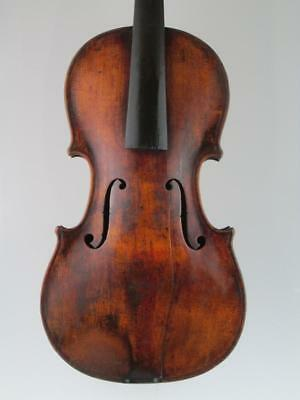 Antique 19th Century Lion Head 4/4 Violin Circa 1820