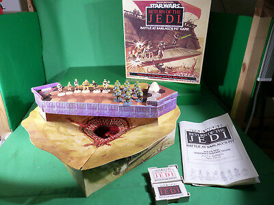 vintage Star Wars Battle at Sarlacc's Pit Game - Parker Bros. - 1980's
