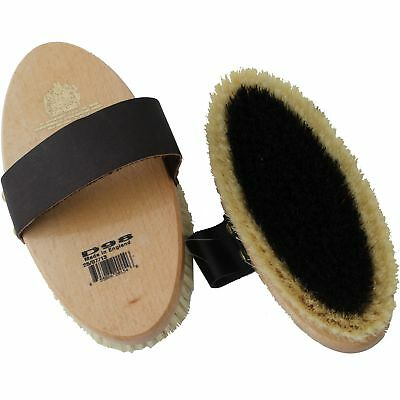 Equerry Large Leather Strap Body Brush (TL1534)