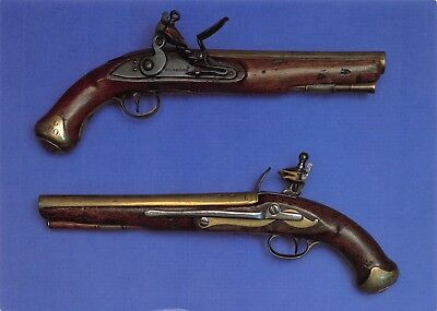 Postcard Postal Artifacts from the NPM Flintlock Maritime Pistols(1804-1810) V41