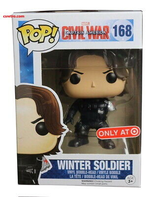 Funko Pop Marvel Captain America Civil War No Arm Armless Winter Soldier Target