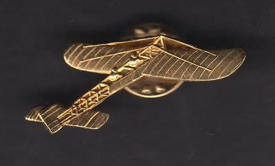 Pin's Avion doré à l'or fin