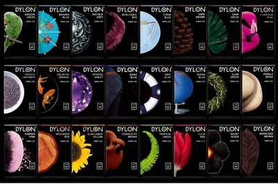 DYLON MACHINE Dye Clothes Fabric Dye Various Colours Unboxed & Flat Packed