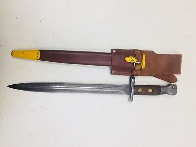 LEE METFORD Bayonet with scabbord