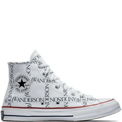 3727293d57a4 Converse x JW Anderson All Star Chuck 70 Grid Hi in White Black Insignia