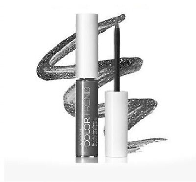 Avon Color Trend Liquid Eyeliner- Grey (Gray) Women's Makeup