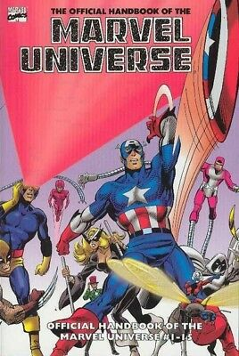 Marvel Universe Essential Volume 1 Marvel Graphic Book