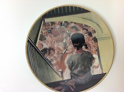 Knowles Collector Plates Norman Rockwell  A Balcony Set 1991