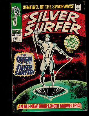 Silver Surfer #1 (Marvel) 1st Print Silver Age by Stan Lee & John Buscema