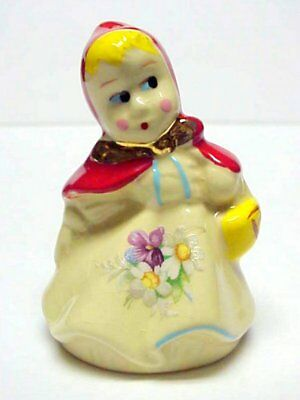 Antique Hull Little Red Riding Hood Pie Bird Vent Very Nice Condition