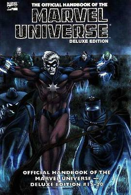Marvel Universe Essential Deluxe Edition Vol 3 Marvel Graphic Book