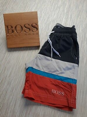 🔥Genuine🔥 Boys Kids HUGO BOSS Swim Shorts Casual Sport Holiday Summer AGE 6 7