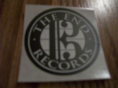 The End Records Sticker