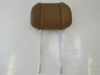 91 Mercedes W126 Coupe 560SEC headrest, front, palomino b