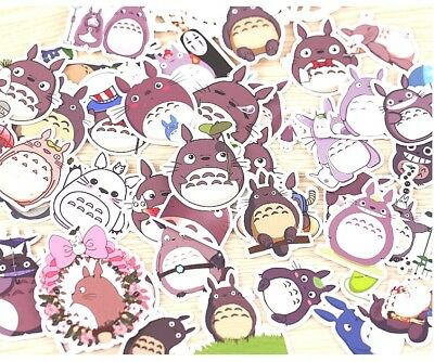 Vinyl Stickers 36pcsToroto Cartoon DIY Photo Scrapbooking Anime Kawaii NEW