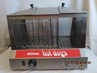 Star Model 35Ssc Hot Dog/sausage Cooker  Commercial Steamer & Bun Warmer Works
