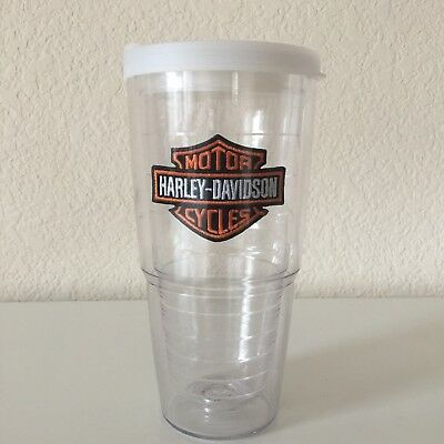 Harley Davidson Tervis Tumber Beverage Insulated Travel Mug Cup with Lid