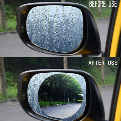 Car Waterproof Wing Mirror Film Anti Fog Rainproof Rear View Mirror Film Durable
